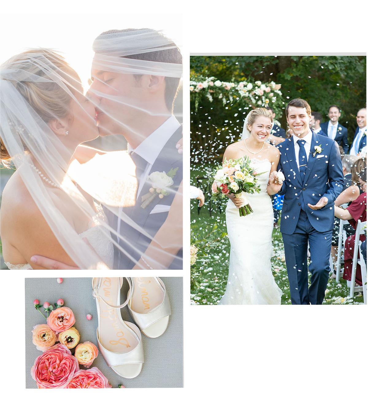 a garden wedding in the hamptons ny