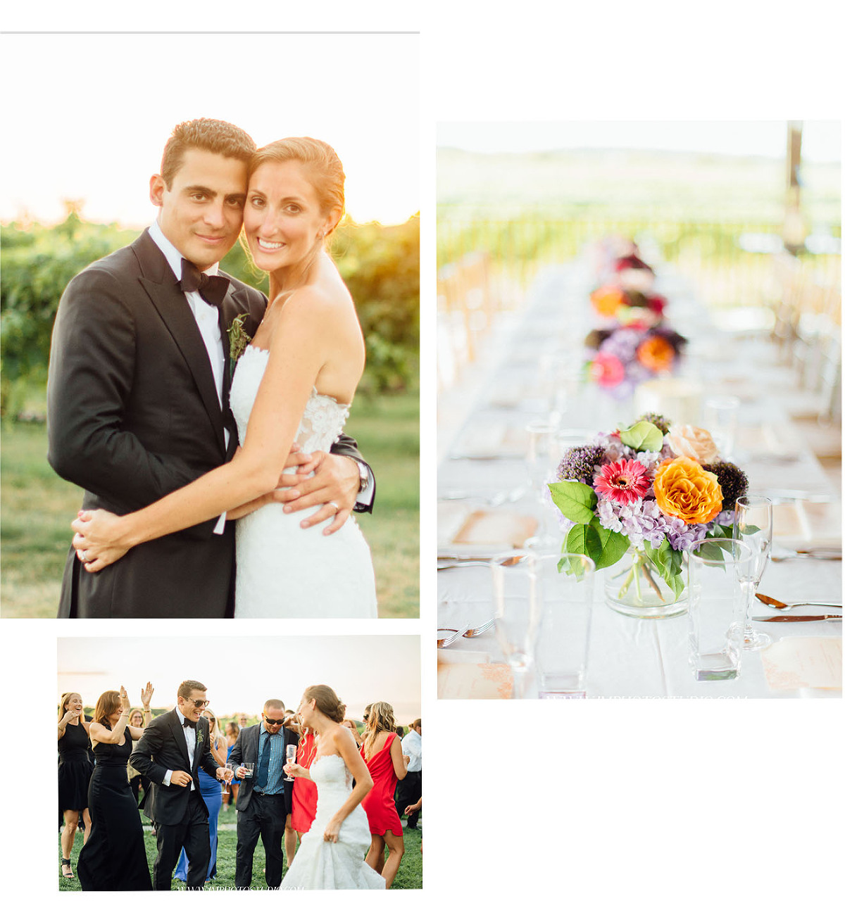 vineyard wedding in long island